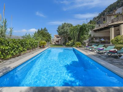 Photo for BEAUTIFUL VILLA PUIG SITUATED NEXT TO THE PUIG DE MARIA HILL PRIVATE POOL&QUIET