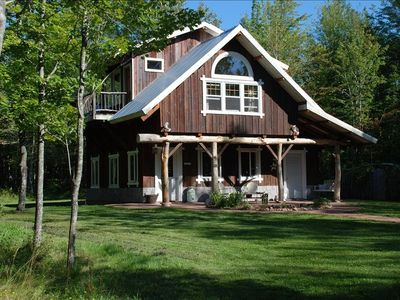 Photo for Magical Handcrafted Cabin on 20 Acres Featured in books/mags