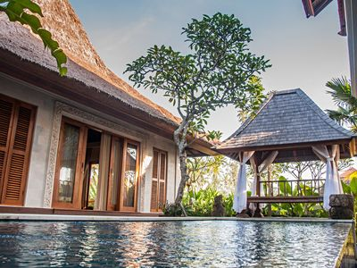 Photo for Luxurious Secluded 3 BR Villa in Ubud
