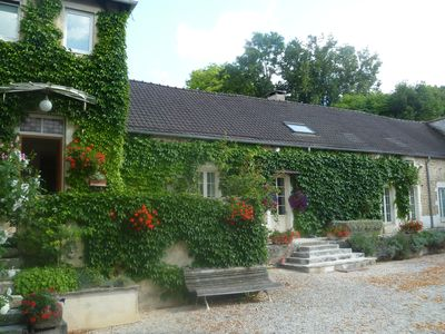 Photo for Coach House & Spring Cottage.  Delightful homes from home in rural Burgundy