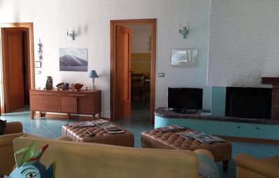 Photo for Sabaudia delightful detached villa 1.5 km from the sea with large garden