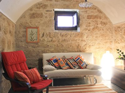 Photo for I Dammusi, inside the Farmhouse Scattarelli, shared pool, 2,5 Km from the beach