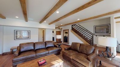 Photo for ON THE PLAZA! Large Luxury Split-Level 3 Bedroom Home in the HEART of Santa Fe!