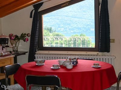 Photo for Casa del Bruno Scenic  apartment in the heart of Lake between Como and Bellagio