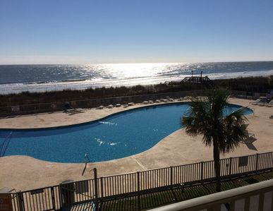 Photo for Birdie's Beachfront II - The Only Oceanfront Condo To Be At Myrtle Beach Resort