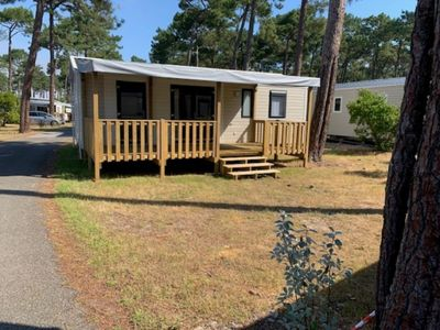 Photo for Mobile home 3 bedrooms camping Campéole