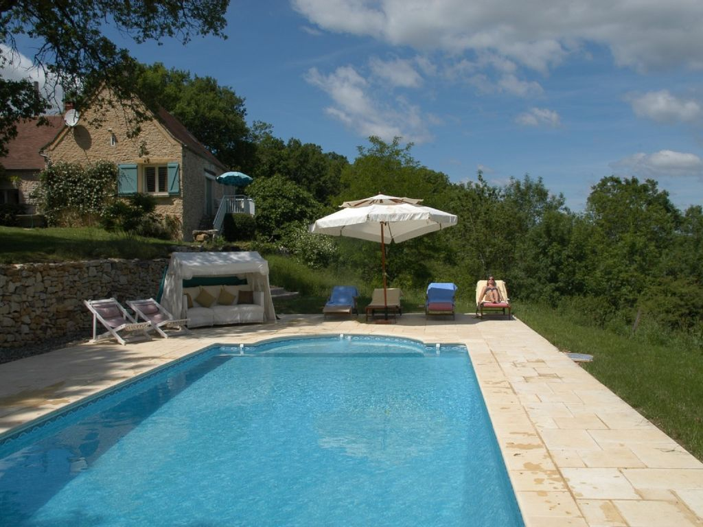la jaspellerie traditional stone gite in rural setting with pool