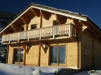 Photo for Chalet Le Mirage  3 bedroom chalet (220 m2) for 2 to 6 people:1 bedroom with double bed, television,