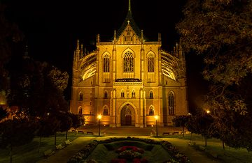 Church of St. Barbara, Kutna Hora, Czechia