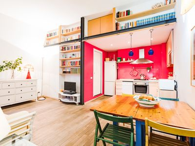 Photo for Colourful flat in the heart of Rome
