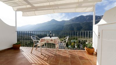 Photo for Casa Martijín: The best terrace in the valley of the Guadiaro and Serrania de Ronda