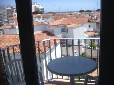 Photo for Cozy apartment overlooking the sea very close to the beach