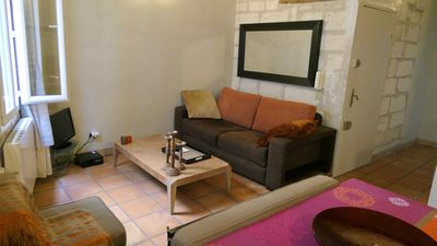 Photo for 1BR Apartment Vacation Rental in Avignon, Provence-Alpes-Côte d'Azur