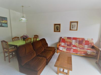 Photo for Apartment in the center of Roses with air conditioning private parking
