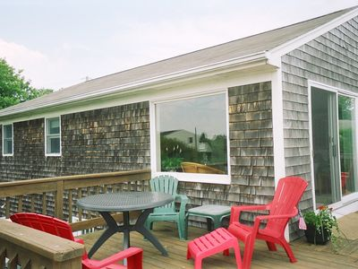 Photo for Walk to Beach - Family Friendly - Immaculate - Huge Deck