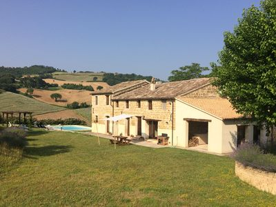 Villa Gelsi and surrounding countryside