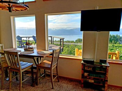 Photo for Moose View Lodge - 2 Bedroom House overlooking Kachemak Bay