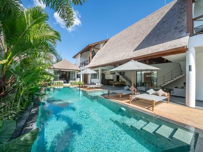 Photo for Tropical and Contemporary Villa in Canggu Area - 500m to the beach