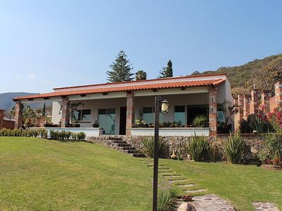 Photo for Chapala Lake view house, private pool in Golf Club