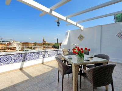Photo for COLOSSEUM DELUXE TERRACE APARTMENT - 6 PEOPLE