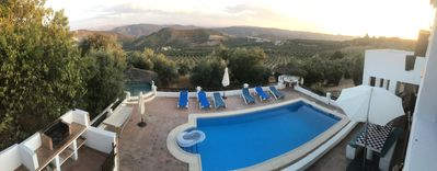 Photo for 6 Bedroom Cortijo with Pool and Stunning Views over Olive Groves and Mountains