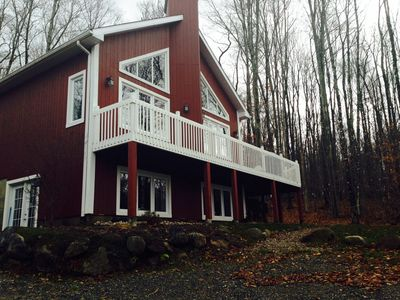 Photo for Luxury Mont Tremblant Chalet - Stunning Acreage 5 Mins To Hill!
