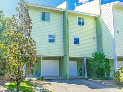 Photo for Just Steps to the Beach | Gulf-side Townhome with Free WiFi!