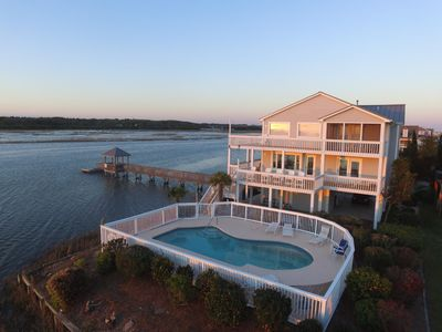 Photo for Ocean Isle Beach 5 BR Home with Private Pool, Amazing View