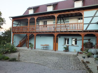 Photo for Charming lodging 4/6 people in Alsace