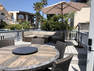 Awesome remodeled beach house!  Deck with view, 1 minute to beach.