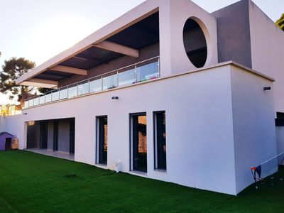 Photo for ARCHITECT VILLA 100 M FROM THE BEACH AND SEA VIEW WITH SWIMMING POOL