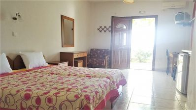 Photo for Chrysi Ammoudia Studio 2 - Sea View Studio with A/C, only 300 Meters from the Beach ! - Free WiFi