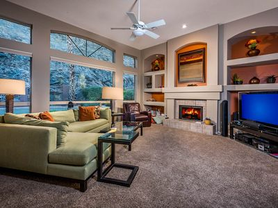 Photo for NEW LISTING! Dog-friendly home w/ pool & firepit, near the top of South Mountain