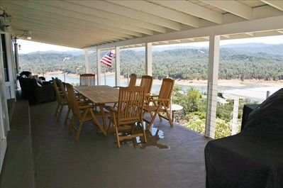 View of outside porch