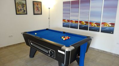Photo for Close to Moraira for 8, Pool (heated) air con, wifi, pool table, ping pong.