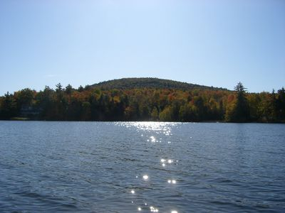Photo for Waterfront home in Eidelweiss (North Conway area)
