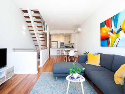 Photo for Luxury Townhouse 50m to Coogee Beach, Ocean Views