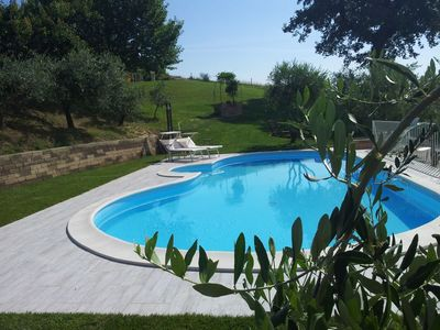 Photo for Small Country House with pool and park