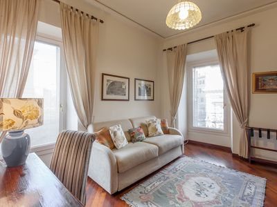 Photo for Elegant Apartment In The Core Of Historical Center Of Rome (Piazza Navona)