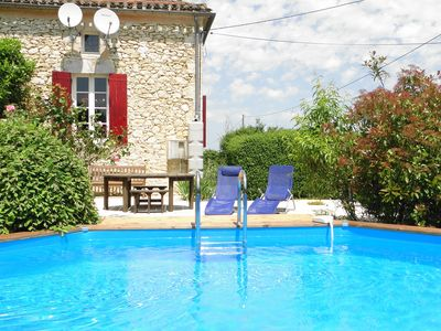 Photo for Restored Farmhouse Holiday Rental With A Private Pool In Southern Dordogne