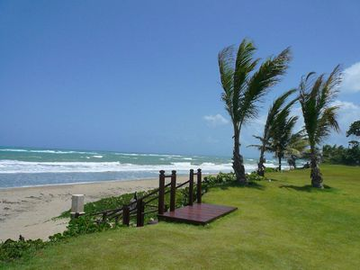 Photo for Over 2500 sq ft of Luxury 3 BR Condo - Seconds from the Beach