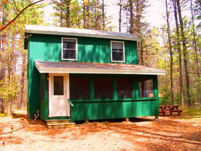 Photo for Topnotch Cottage with Sebago Lake Beach Access