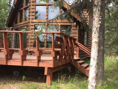 Photo for Kenai River Cabin, private fishing and lots of room to enjoy the real Alaska.