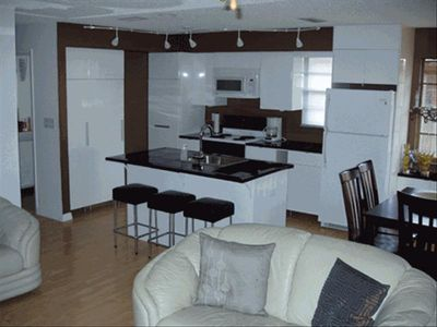 Gleaming kitchen with all the amenities. Very well laid out