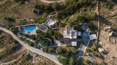 Birds Eye View of Kairos Villa