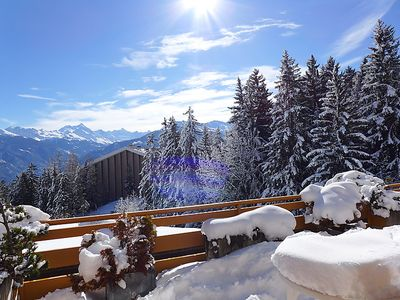 Photo for Apartment Terrasse des Alpes in Crans-Montana - 4 persons, 1 bedrooms