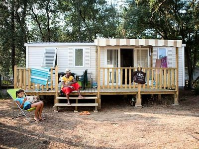 Photo for Camping Signol ***** - Mobile Home Family 4 rooms 6/8 persons