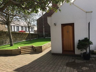Photo for Fossil Bank, a luxury detached retreat in the heart of Alnmouth, with parking