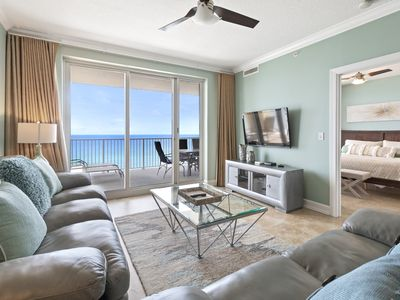 Photo for Ocean Reef 11014br Beach Frontopen May 6 to 9! Gulf Front Pool & Hot Tub