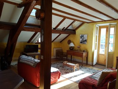 Photo for Beautiful apartment in country house chamonix mont blanc